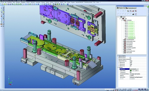 Visi cad and visi cam pelter pressing for Free online cad system